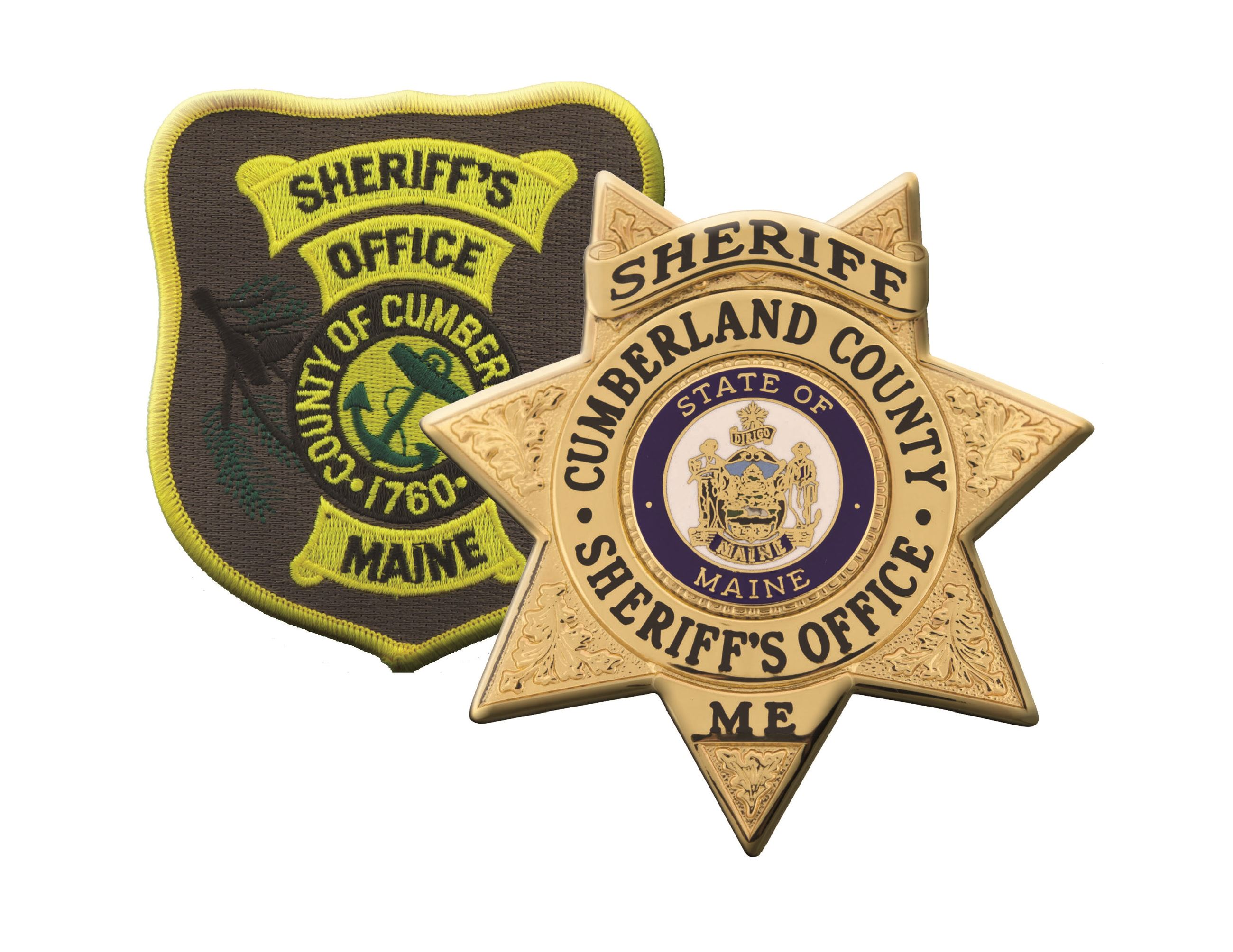 Sheriff's Office Patch and Badge